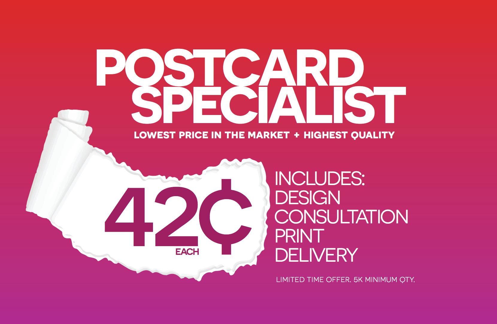 postcard specialists